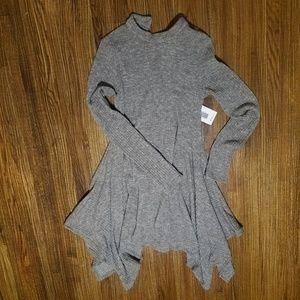 'Just Fab' Long-Sleeve Sweater Dress